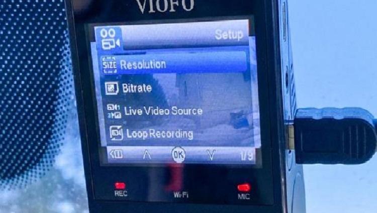 امکانات دوربین خودرو