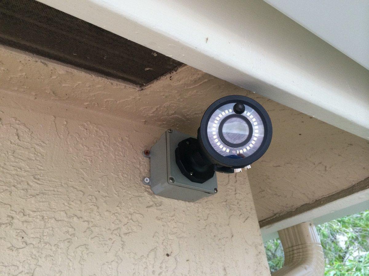 انواع دوربین مداربسته مجهز به سنسور حرکتی