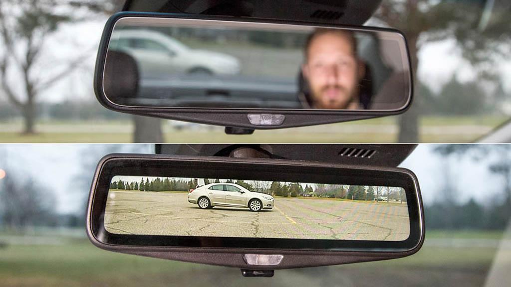 دوربین خودرو آینه ای | دوربین آینه ای خودرو | دوربین پشت آینه ای خودرو