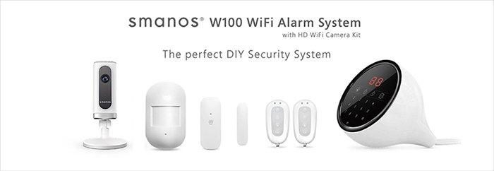 راهنمای راه اندازی سیستم امنیتی W100