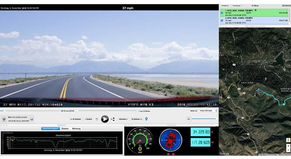 VIOFO A119 V3 - G | خرید دوربین خودرو مدل A119 V3 - G