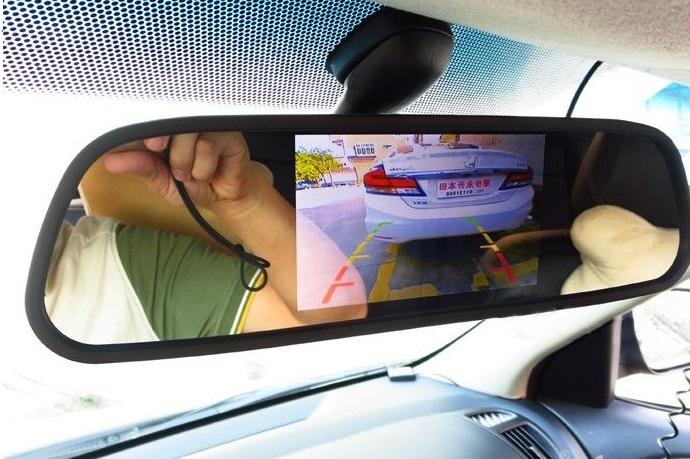 دوربین آینه ای خودرو | دوربین پشت آینه ای خودرو