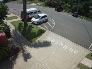 نمونه تصویر دوربین مداربسته با کیفیت ۳ مگاپیکسل
