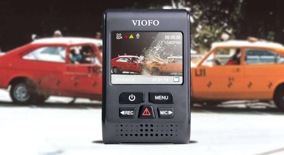 خرید فروش دوربین فیلمبرداری خودرو وایفو مدل A119 V3 | لیست قیمت دوربین خودرو viofo مدل A119 V3
