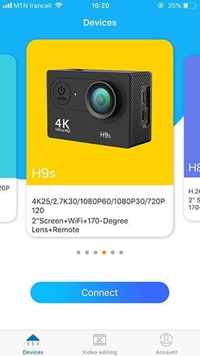 دوربین های فیلمبرداری ورزشی H9R