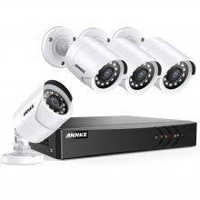 سیستم امنیتی ۴ کاناله انکی ANNKE