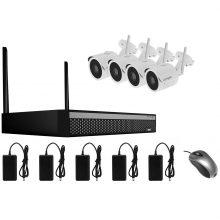 کیت دوربین امنیتی بیسیم لانگسی مدل WIFI3608DE4SW200