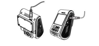 اتصال دوربین فیلمبرداری خودرو مدل A119-G به شارژر فندکی خودرو