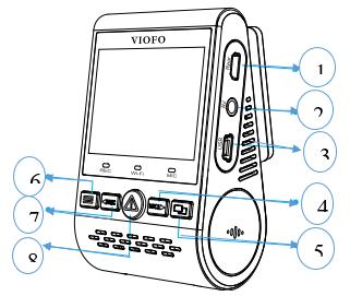 معرفی دوربین فیلمبرداری خودرو مدل A129dou-G IR و A129DG
