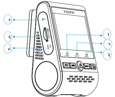 مشخصات دوربین فیلمبرداری خودرو وایفو مدل A129dou-G IR و A129DG