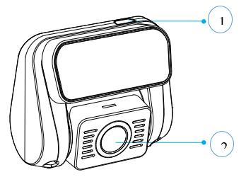دوربین پشت خودرو مدل A129dou-G IR و A129DG