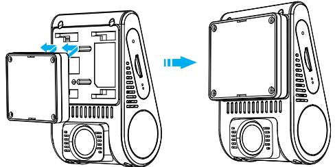 نصب دوربین جلو خودرو وایفو مدل A129dou-G IR و A129DG