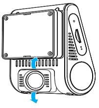 نصب دوربین فیلمبرداری خودرو مدل A129dou-G IR و A129DG