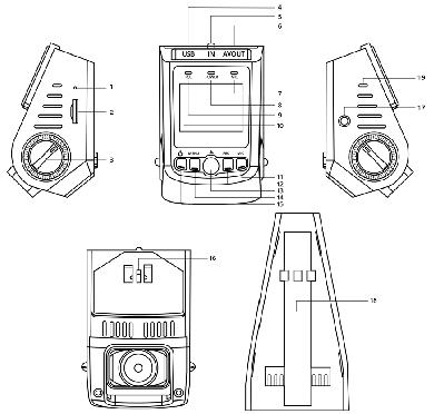 آموزش نصب و راه اندازی دوربین فیلمبرداری خودرو مدل A118C2 و A118C2-G