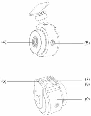 مشخصات دوربین خودرو WR1