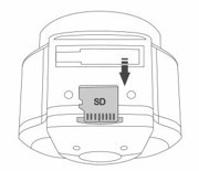 درگاه کارت حافظه ی دوربین خودرو مدل WR1
