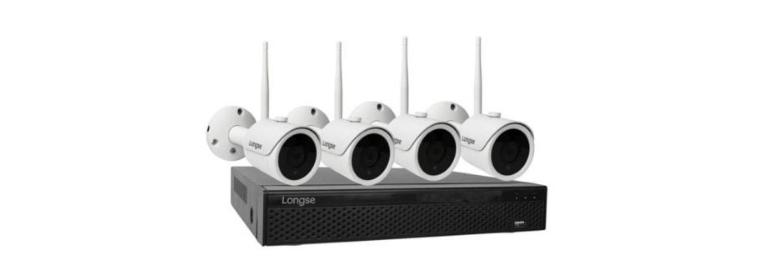 راهنمای نصب سیستم امنیتی لانگسی مدل WIFI3604DE4SF200