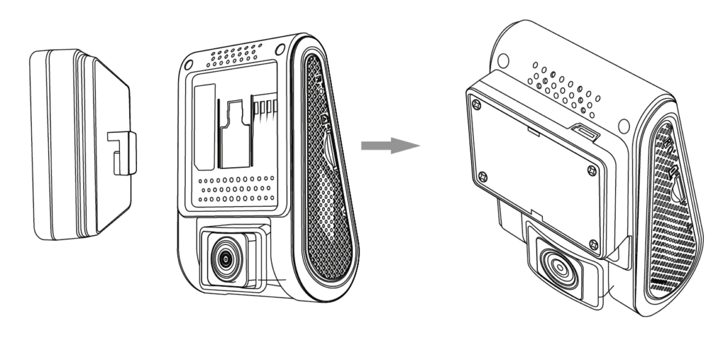 آموزش نصب Dashcam Viofo A119