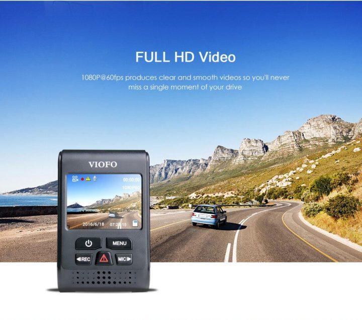 viofo A119S | قیمت دوربین فیلم برداری خودرو viofo مدل A119S