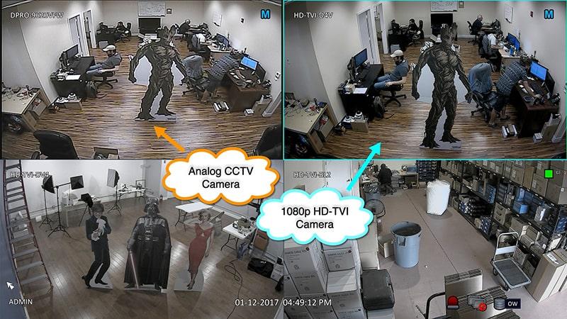 تکنولوژی به کاررفته در دوربین مداربسته HDTVI | دوردید تک
