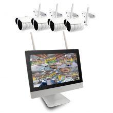 سیستم امنیتی و نظارتی بیسیم لانگسی مدل WIFI3604M4FE200
