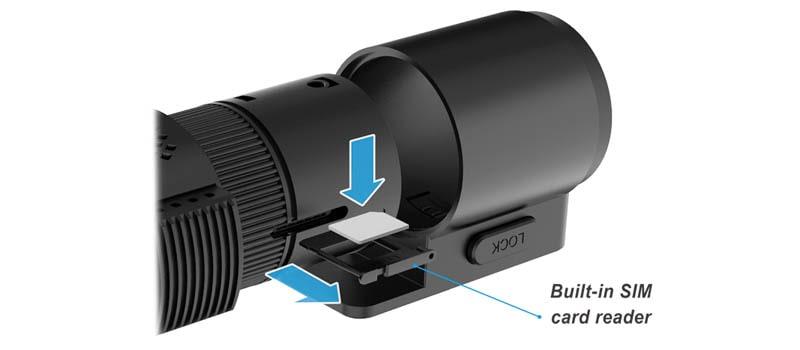 دوربین خودرو سیم کارت خور | دوردید تک