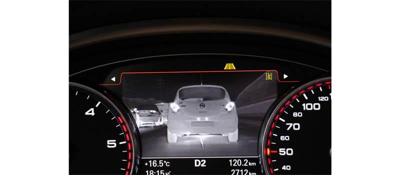 دوربین حرارتی خودرو