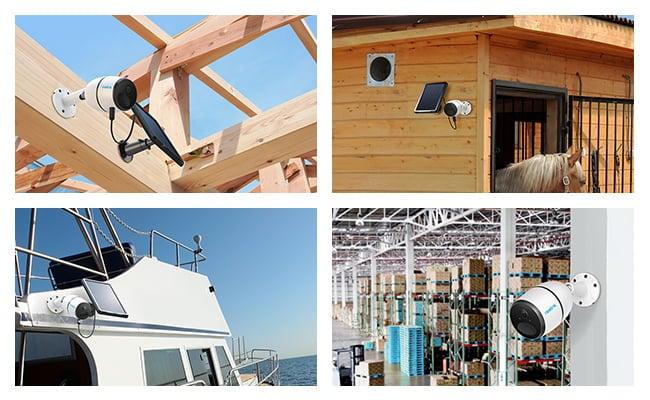محل های مناسب برای نصب دوربین سلولی