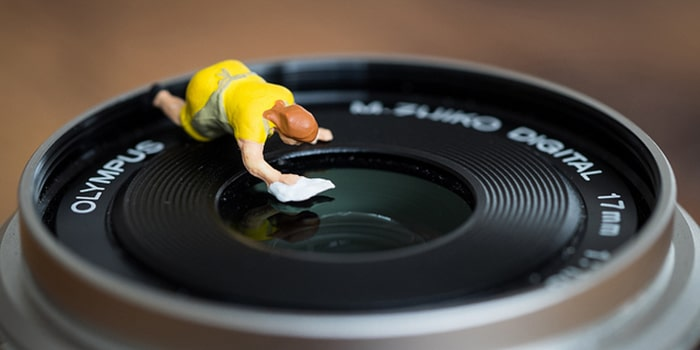 تمیز کردن لنز دوربین | دوردید تک