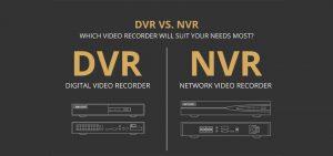 تفاوت دستگاه DVR و NVR در چیست و بهترین گزینه برای خرید کدام است؟