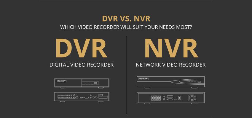 تفاوت دستگاه DVR و NVR