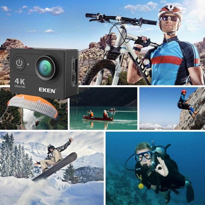 دوربین ورزشی eken | قیمت و خرید دوربین فیلمبرداری ورزشی اکن مدل H9R V2