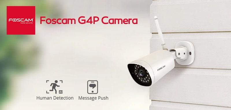 خرید دوربین تحت شبکه فوسکم G4P | قیمت دوربین تحت شبکه foscam مدل G4P