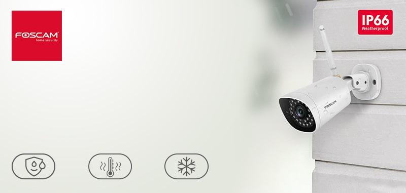 لیست قیمت دوربین تحت شبکه foscam مدل G4P | دوربین تحت شبکه فوسکم foscam