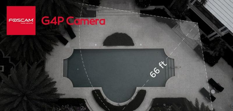 قابلیت دید در شب دوربین مداربسته فوسکم مدل G4P