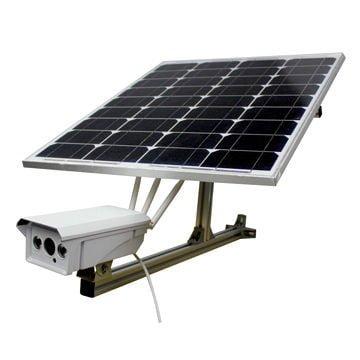 دوربین مداربسته خورشیدی | پنل خورشیدی در دوربین مداربسته