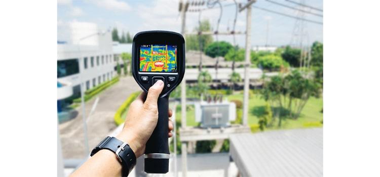 دوربین حرارتی | دوربین مداربسته حرارتی | دوربین ترموویژن